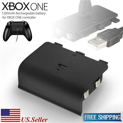 Rechargeable Battery Pack for Xbox One /S /X Wireless Controller + USB Cable
