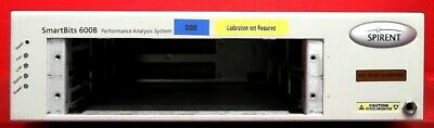 Spirent SMB600 N06012002 SmartBits Series Network Test 2 Slot Mainframe