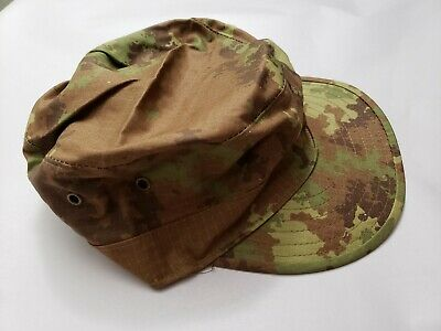 ITALIAN ARMY MILITARY Vegetato Camo BDU Uniform Set 3 pc Jacket Pant Cap  Hat 2XL