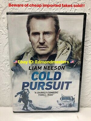 Cold Pursuit DVD 2019 Liam Neeson Authentic U.S. Release. Beware of Cheap Fakes!