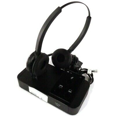6bdd6d75c1f Jabra Pro 9400BS Bluetooth Wireless Binaural Headset System w/ Adapter