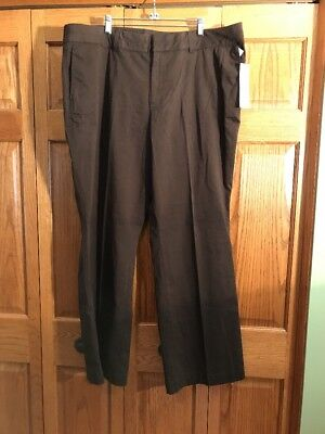 Coldwater Creek Pants Brown Denim Trouse Natural Fit Womans Size 22 New