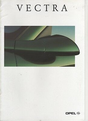 Prospectus - Catalogue Opel Vectra 1995