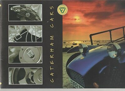 Prospectus - Catalogue Caterham 1996 Belgique