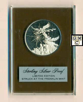 1973 Sterling Silver Proof Limited Edition Round by Franklin Mint (OOAK)