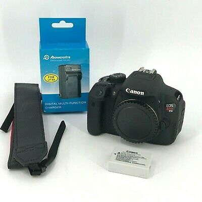 Canon EOS Rebel T5i 18.0MP DSLR Camera Body #8GAr7