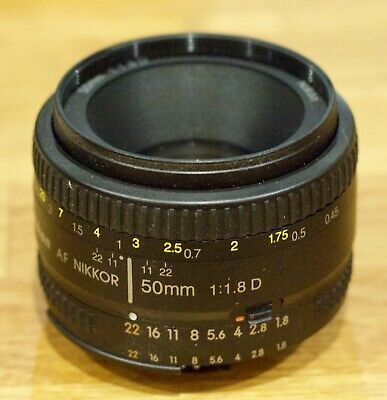 Nikon Nikkor AF 50mm f/1.8 D - Great Condition!