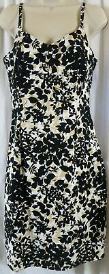 Old Navy Stretch Dress Sundress 8 Floral Spaghetti Strap Multi Color