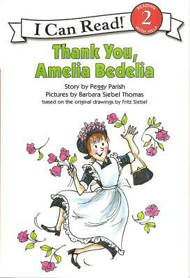 Thank You Amelia Bedelia Read w/ Help Level 2 High Interest Story Developing New