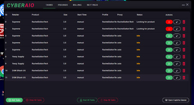 CyberAIO Bot | BEST BOT IN THE WORLD | Recent V. 3.0.4.6.