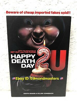 HAPPY DEATH DAY 2U DVD New AUTHENTIC ( BEWARE OF FAKES SOLD AS RENTAL VERSIONS)