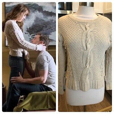 ASO Anastasia Steele Fifty shades of Grey Vince Wool Sweater women's size Small
