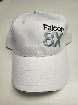 f6a66958806017 Dassault Falcon 8X Baseball Hat Cap Gray Adjustable One Size Fits All  Aircraft