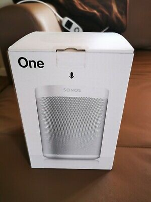 Sonos One Gen 2, White, Brand New, FREE DELIVERY