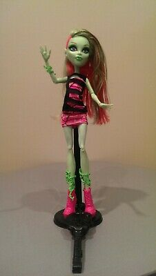 Monster High Coffin Bean Venus McFlytrap w/ Stand & Brush