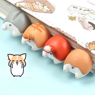 Novelty Dog Cat Hamster Fox Animal Bookmarks Kids Book Paper Reading Supplies