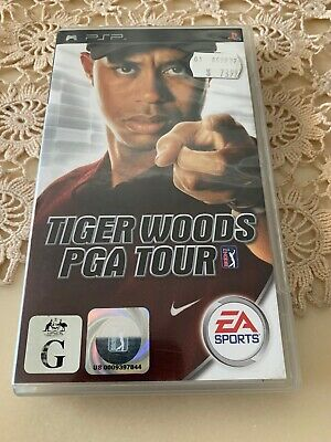 Tiger Woods PGA Tour - Sony PSP PAL - Includes Manual