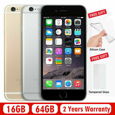"Apple iPhone 6 Plus 16/64/128GB Unlocked CDMA+GSM ATT T-mobile Verizon 5.5"" New!"