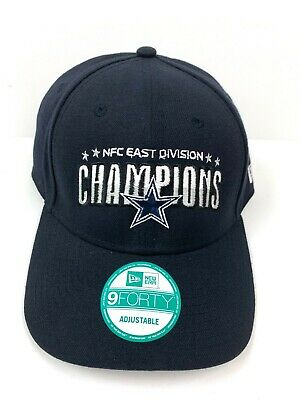e887ca10 NFL DALLAS COWBOYS NFC EAST CHAMPS SOLID Champions 9Forty New Era ...