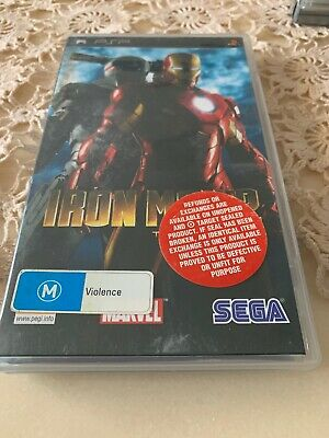 IRON MAN 2 PSP Complete In Great Condition