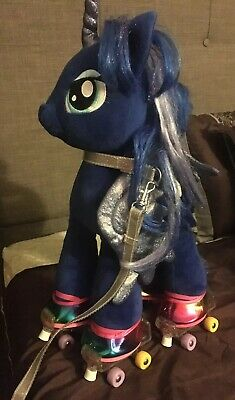 HUGE Build A Bear My Little Pony Lot Trixie Cadence Luna 7 Ponies + Accessories