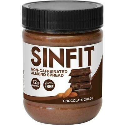 Sinfit Nutrition Almond Spread - Chocolate Chaos (Non-Caffeinated)