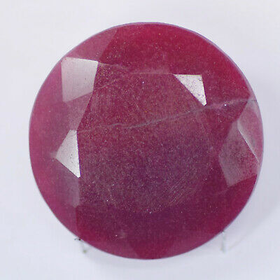 Natural 416 Ct Fine Cut Certified Real Corundum African Red Ruby Loose Gemstone