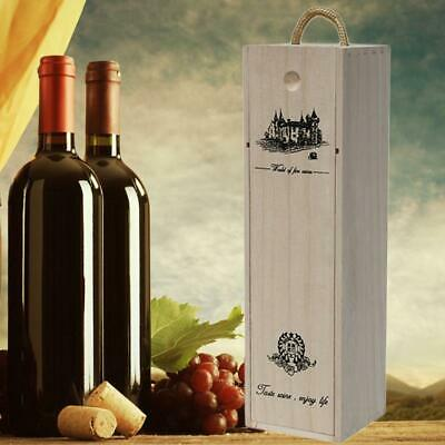 Wine Grape Gift Box Lafite Red Bottle Whiskey For Customized Wooden Pine