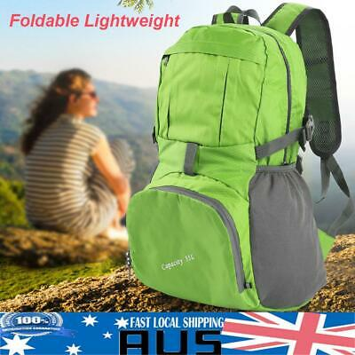 Foldable Lightweight Outdoor Sports Backpack Camping Hiking Travel School Bag