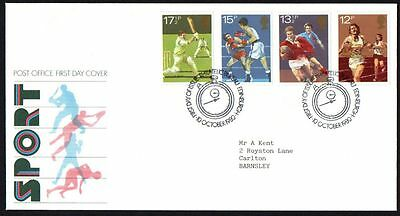 FDC - GB - 1980 Sport - First Day Cover..