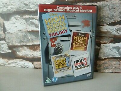 Disney : High School Musical Trilogy Dvd Set  - Uk