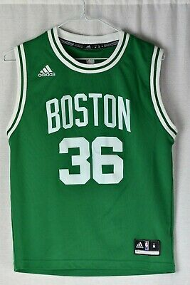 5cae02a3ec0 BOSTON CELTICS #36 Marcus Smart Adidas Mens 2XL Jersey Styled Cotton ...
