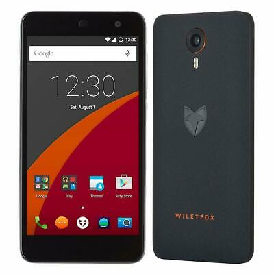 Wileyfox Swift Dual SIM 4G Smartphone 16gb (Unlocked) Black