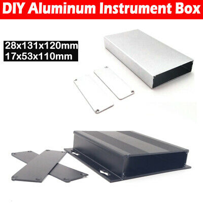 Aluminum Box Enclosure Case Project electronic fr PCB DIY 131*120*28 110*53*17MM