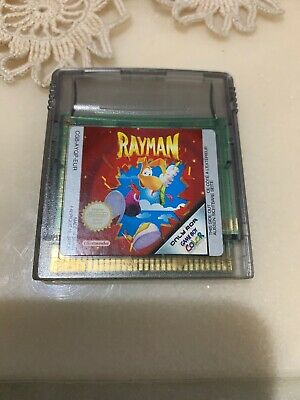 GBC - Nintendo Gameboy Color Game Rayman Works Perfectly As Shown In Pictures