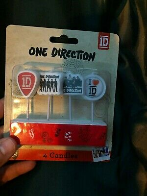 One Direction 1D Birthday Cake Candles NEW