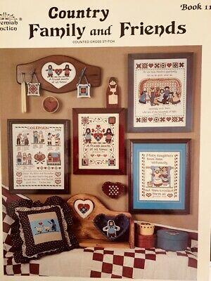 Jeremiah Junction Book #11 Country Family & Friends Cross Stitch Pattern
