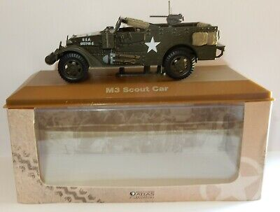 Edtitions Atlas Vehicule Militaire M3 Scout Car Usa 1/43 In Box
