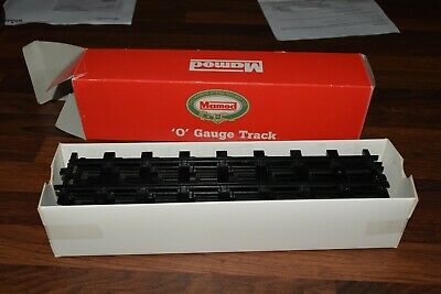 MAMOD O GAUGE TRACK  BOX 8 straight sections unused 1353