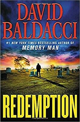 Redemption by David Baldacci Hardcover 1 New York Times best selling series NEW