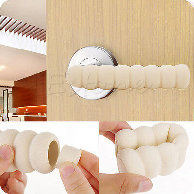 2Pcs Door Handle Protective Baby Child Safety Doorknob Spiral Sleeve Cover Safe