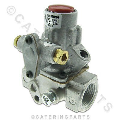 """H15Dq-2 Baso Gas Safety Valve Ffd Fsd 3/4"""" / Pilot In & Out Nieco Broiler 2123"""