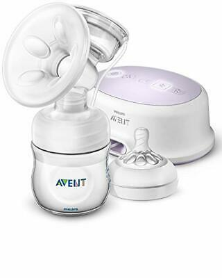 Philips Avent Single Electric Breast Pump + Bonus Power Cushion, White