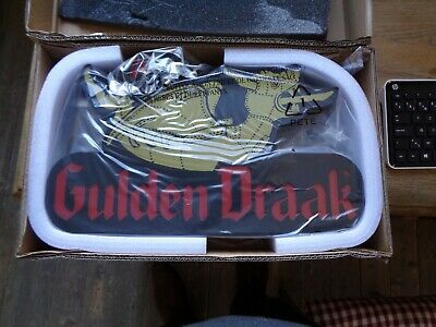 Gulden draak beer sign reclame new in box inddor liht sgn N° 555 of 750 45,8x28,