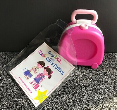 Pre School,Baby,Toddlers My Carry Potty Waterproof Travel Toilet,Portable Pink