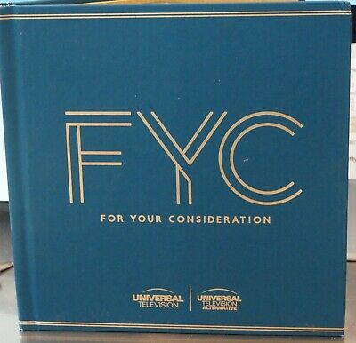 Universal Fyc 2019 Emmy 2 Disc Set Drama & Comedy New Never Viewed