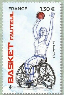 France 2019 SPORT Couleur Passion Basket MNH / Neuf**