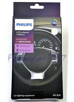 Philips LED Canbus Canceler H11 Head Light Low Beam Kit Fix Stop Flickering Lamp