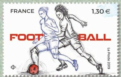 France 2019 SPORT Couleur Passion Football MNH / Neuf**