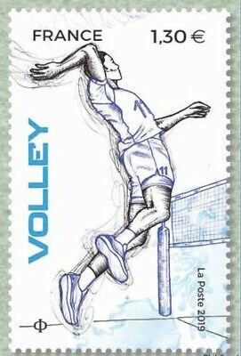 France 2019 SPORT Couleur Passion Volley MNH / Neuf**
